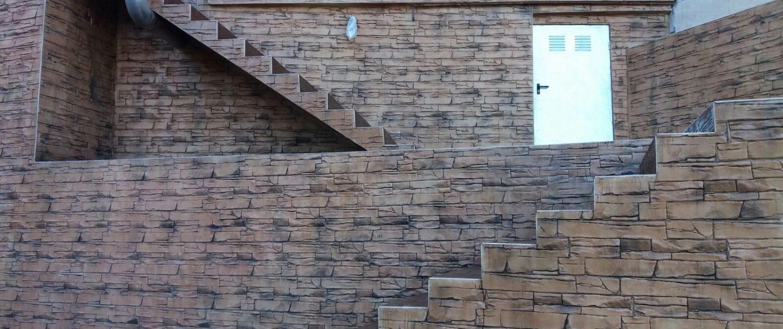 paredes de hormigon en barcelona